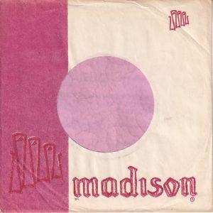 Madison U.S.A. Company Sleeve  With A Notch 1959 – 1961
