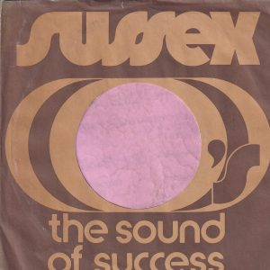 Sussex U.S.A. Company Sleeve With A Cut Notch 1973 – 1975