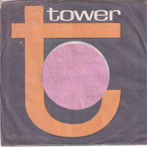 Tower U.S.A. Company Sleeve With Address Details 1964 – 1966