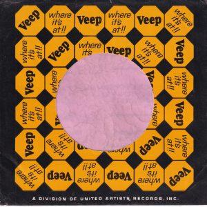 Veep U.S.A. Company Sleeve 1965 – 1966