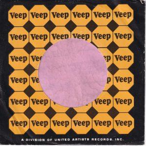 Veep U.S.A. Company Sleeve 1966 – 1969