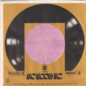 ABC Records , Bluesway , Impulse! U.S.A. Gold Company Sleeve 1973 – 1974