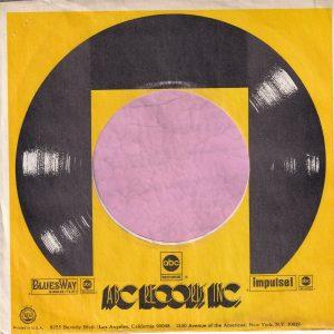 ABC Records , Bluesway , Impulse! U.S.A. Yellow Company Sleeve 1973 – 1974