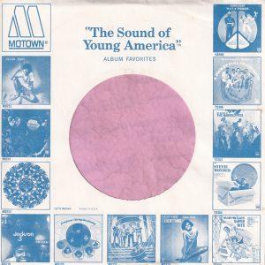 Motown U.S.A. Blue Company Sleeve 1971