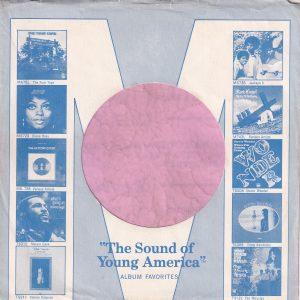 Motown U.S.A. Blue Company Sleeve 1971 – 1972