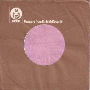 Buddah Records U.K. Company Sleeve 1975 – 1980