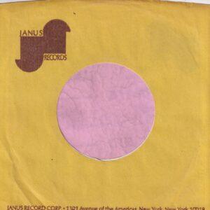 Janus Records U.S.A. 1301 Avenue Of The Americas Address Details Company Sleeve 1969 – 1976