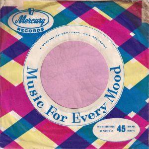 Mercury Records U.K. Company Sleeve 1960 – 1963