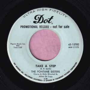 "The Fontaine Sisters "" Take A Step "" Dot Records Vg+"