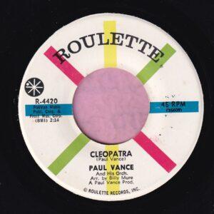 "Paul Vance "" Cleopatra "" Roulette Vg+"