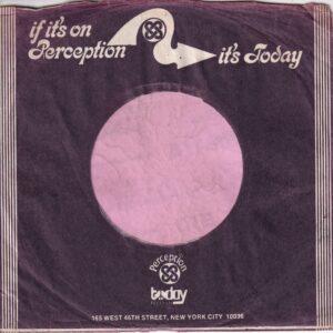 Perception U.S.A. Purple Print Company Sleeve 1971 – 1974