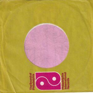 PIR Philadelphia International Records U.K. Company Sleeve 1975 – 1978