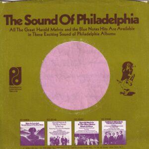PIR Philadelphia International Records U.S.A. Company Sleeve 1975 – 1984