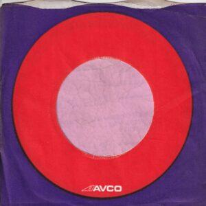Avco U.K. Company Sleeve 1972 – 1973