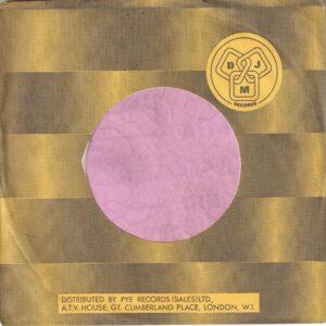 DJM Records U.K. Company Sleeve 1975 – 1976