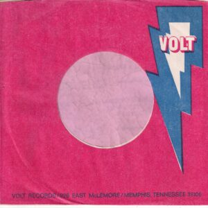 Volt U.S.A. Red Background Company Sleeve 1968 – 1971
