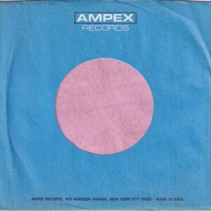 Ampex Records U.S.A. Company Sleeve 1970 – 1972