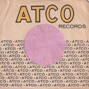 Atco Records U.S.A. No Address Details Records Printed High Company Sleeve 1957 – 1967