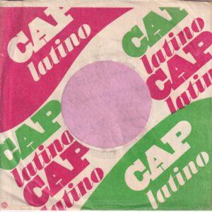Cap Latino U.S.A. Company Sleeve 1960's