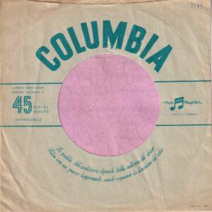 Columbia Brazil ? Company Sleeve