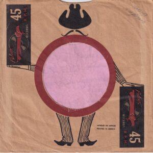 Falcon Records Mexico Company Sleeve