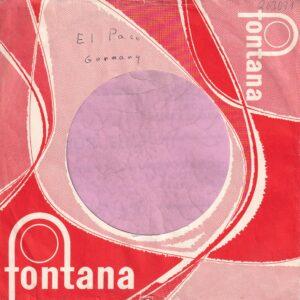 Fontana Germany Company Sleeve 1958 – 1962