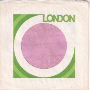 London Canadian Green Print On White Company Sleeve