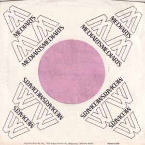 Media Arts Records U.S.A. Company Sleeve 1970