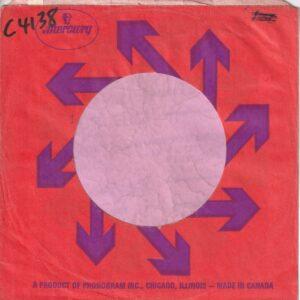 Mercury Canadian Company Sleeve 1969 – 1973