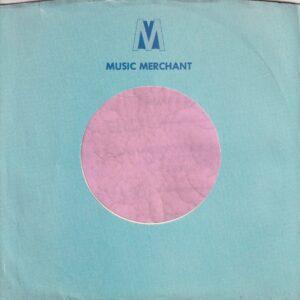 Music Merchant U.S.A. Company Sleeve 1972 – 1973