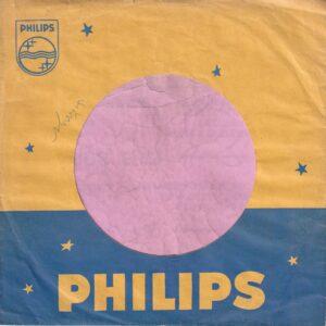 Philips Germany Company Sleeve 1957 – 1960