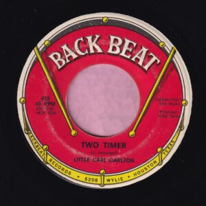 "Little Carl Carlton "" Two Timer "" Back Beat Vg+"