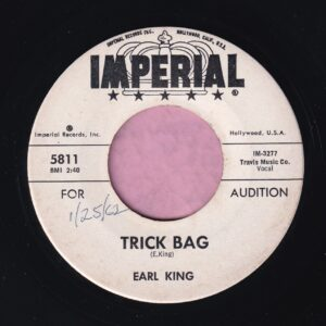 "Earl King "" Trick Bag "" Imperial Demo Vg+"