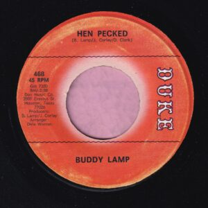 "Buddy Lamp "" Hen Pecked "" Duke Vg+"
