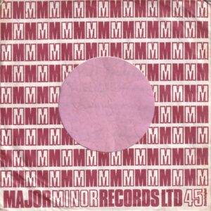 Major Minor Records U.K. Company Sleeve 1968 – 1970