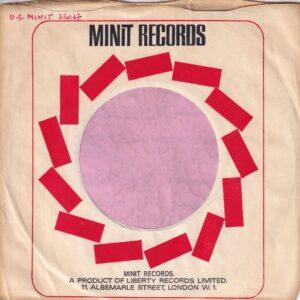Minit Records U.K. Company Sleeve 1967 – 1969