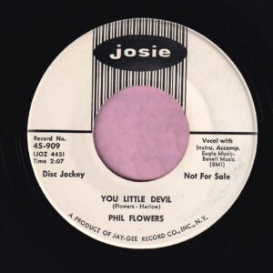 "Phil Flowers "" You Little Devil "" Josie Demo Vg+"