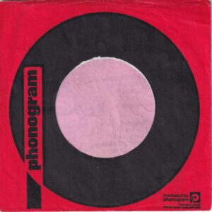 Phonogram U.K. Company Sleeve 1978 – 1981