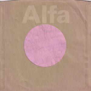 Alfa U.S.A. Company Sleeve 1979 – 1982