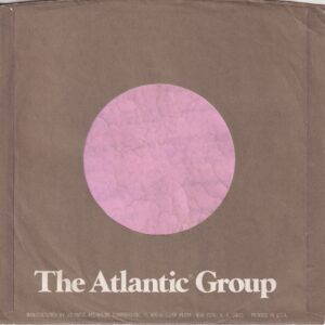 Atlantic Group U.S.A. Address Details In Long Text Company Sleeve 1978 – 1980