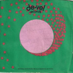De-Vel Records U.S.A. Company Sleeve 1973