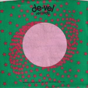 De-Vel Records U.S.A. Re Designed More Stars Company Sleeve 1973