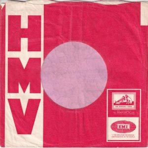 HMV His Masters Voice U.K. Use The New Emitex Company Sleeve 1964 – 1965