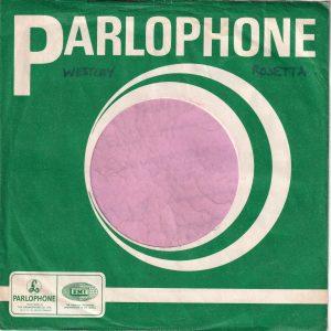 Parlophone U.K. Hollies Lp Thumbnail Top Right Company Sleeve 1968 – 1972