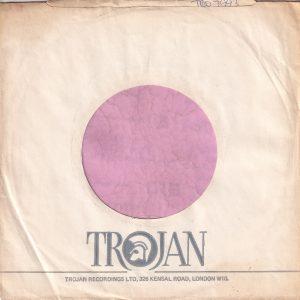 Trojan Records U.K. 326 Kensal Road London W10 Address Company Sleeve 1971 – 1976