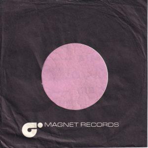Magnet Records U.K. EMI Dist. Company Sleeve 1977 – 1980