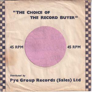 Pye Group Records U.K. Company Sleeve 1957 – 1959