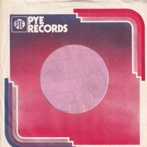 Pye Records U.K. Company Sleeve 1973 – 1979