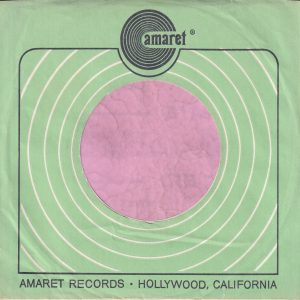Amaret Records U.S.A. Green Company Sleeve 1969 – 1971