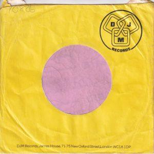 DJM Records U.K. Company Sleeve 1976 – 1979